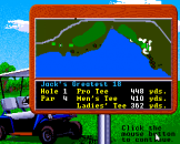 Jack Nicklaus Greatest 18 Holes of Major Championship Golf Screenshot 4 (Apple IIGS)
