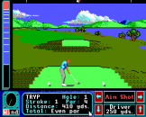 Jack Nicklaus Greatest 18 Holes of Major Championship Golf Screenshot 5 (Apple IIGS)