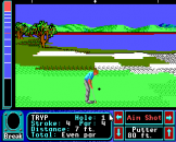 Jack Nicklaus Greatest 18 Holes of Major Championship Golf Screenshot 6 (Apple IIGS)