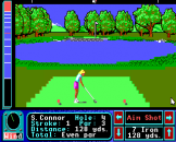 Jack Nicklaus Greatest 18 Holes of Major Championship Golf Screenshot 7 (Apple IIGS)