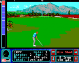Jack Nicklaus Greatest 18 Holes of Major Championship Golf Screenshot 12 (Apple IIGS)