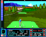 Jack Nicklaus Greatest 18 Holes of Major Championship Golf Screenshot 13 (Apple IIGS)