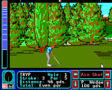 Jack Nicklaus Greatest 18 Holes of Major Championship Golf Screenshot 14 (Apple IIGS)