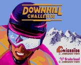 Downhill Challenge Loading Screen For The Apple IIGS