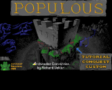 Populous Loading Screen For The Archimedes A3000