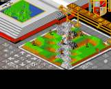 Populous Screenshot 3 (Archimedes A3000)