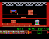 Oh No More Lemmings Screenshot 2 (Archimedes A3000)