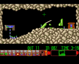 Oh No More Lemmings Screenshot 4 (Archimedes A3000)