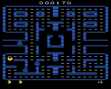 Pac-Man Screenshot 2 (Atari 2600)