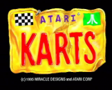 Atari Karts Loading Screen For The Atari Jaguar (EU Version)