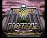 Brutal Sports Football (ROM Cart) For The Atari Jaguar (EU Version)