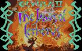 Elvira II: The Jaws Of Cerberus Loading Screen For The Atari ST