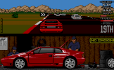 Lotus Esprit Turbo Challenge Screenshot 4 (Atari ST)