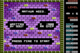 Arthur Noid Screenshot 0 (Commodore 16/Plus 4)