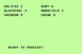Soccer Boss Screenshot 3 (Commodore 16/Plus 4)