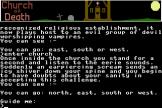 Church Of Death Screenshot 2 (Commodore Plus 4)