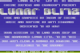 Lunar Blitz Screenshot 0 (Commodore 16/Plus 4)