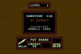 Saboteur Screenshot 0 (Commodore 16/Plus 4)