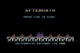 Aftermath Screenshot 0 (Commodore 64/128)