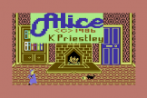 The Further Adventures Of Alice In Videoland (Cassette) For The Commodore 64/128