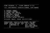 Fun School 2: For Under 6s Screenshot 0 (Commodore 64)