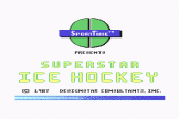 Superstar Ice Hockey (Cassette) For The Commodore 64