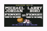"One-On-One: Michael Jordan And Larry Bird (5.25"" Disc) For The Commodore 64"