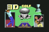 3D Golf (Cassette) For The Commodore 64/128