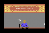 Kung Poo Fighter Screenshot 1 (Commodore 64/128)