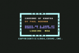 Caverns Of Khafka (Cassette) For The Commodore 64