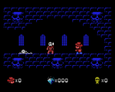 Sydney Hunter And The Sacred Tribe Screenshot 1 (Coleco Vision/Adam)