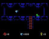 Sydney Hunter And The Sacred Tribe Screenshot 4 (Coleco Vision/Adam)