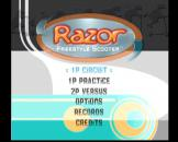 Razor Freestyle Scooter Loading Screen For The Dreamcast (US Version)