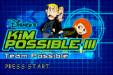 Kim Possible 3: Team Possible Loading Screen For The Game Boy Advance