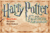 Harry Potter And The Prisoner Of Azkaban Loading Screen For The Game Boy Advance