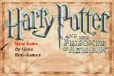 Harry Potter And The Prisoner Of Azkaban Loading Screen For The Game Boy Advance