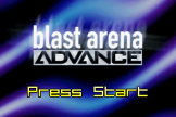 Blast Arena Advance Loading Screen For The Game Boy Advance