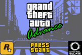 Grand Theft Auto Loading Screen For The Game Boy Advance