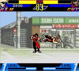 Street Fighter Alpha: Warriors' Dreams Screenshot 2 (Game Boy Color)