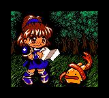 Arle no Bōken: Mahō no Jewel Loading Screen For The Game Boy Color