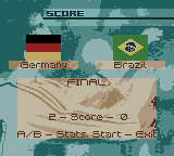 FIFA 2000 Screenshot 9 (Game Boy Color)