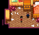 Harry Potter and the Chamber of Secrets Screenshot 1 (Game Boy Color)