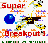 Super Breakout Loading Screen For The Game Boy