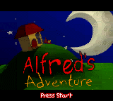 Alfred's Adventure Loading Screen For The Game Boy Color