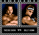WWF Wrestlemania 2000 Screenshot 14 (Game Boy Color)