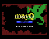 Mayq Buster Loading Screen For The MSX