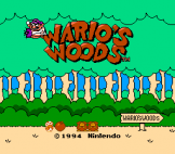 Wario's Woods Loading Screen For The Nintendo (US Version)