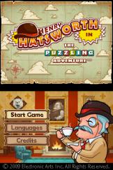 Henry Hatsworth In The Puzzling Adventure Screenshot 1 (Nintendo DS)
