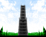Xak Precious Package: The Tower of Gazzel Screenshot 9 (PC-88)