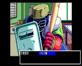 Pocky 2: Kaijin Aka Manto no Chōsen Screenshot 39 (PC-88)